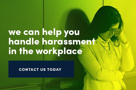 we can help you handle harassment in the workplace Tampa, FL